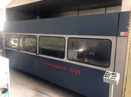 Laser cutting SALVAGNINI L1-4015 (USED)